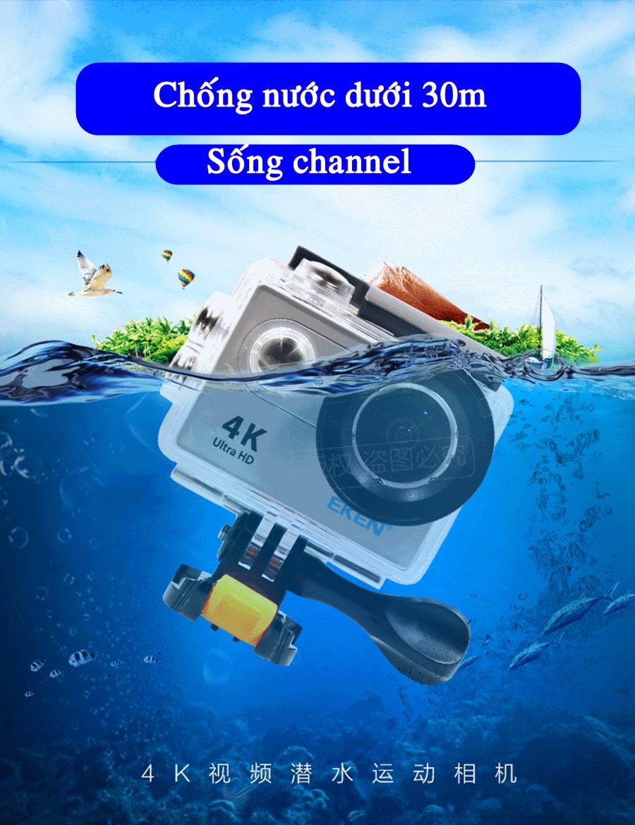 Camera hanh trinh xe may Eken H9R - 13