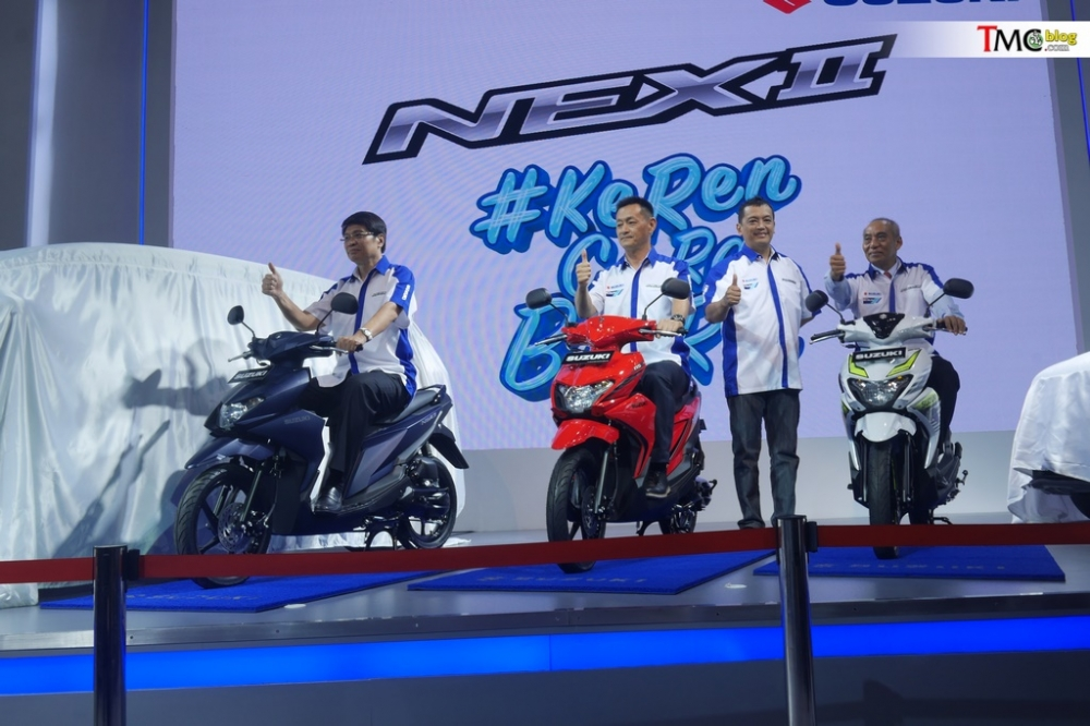 Can canh Suzuki NEX II 2018 vua duoc ra mat - 2