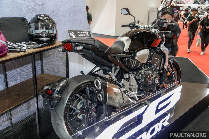 Chi tiet Honda CB1000R tai trien lam Autoshow Malaysia 2018 - 4