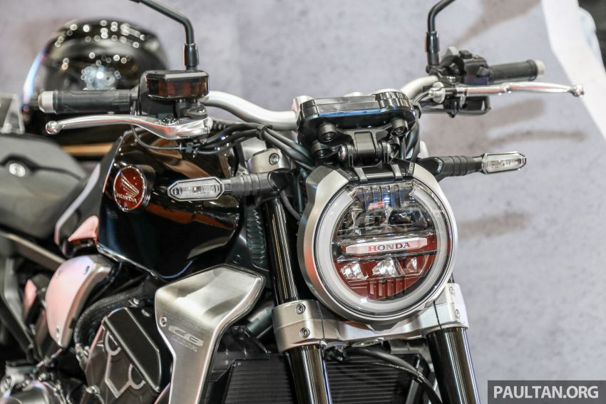 Chi tiet Honda CB1000R tai trien lam Autoshow Malaysia 2018 - 6