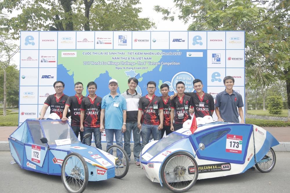Chung ket cuoc thi Lai xe sinh thai Tiet kiem nhien lieu Honda 2018 - 5
