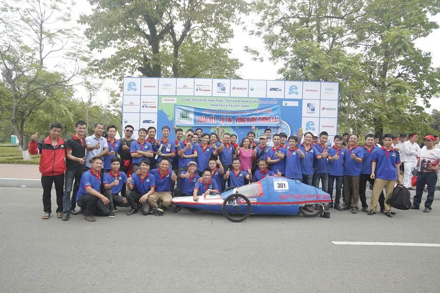 Chung ket cuoc thi Lai xe sinh thai Tiet kiem nhien lieu Honda 2018 - 6
