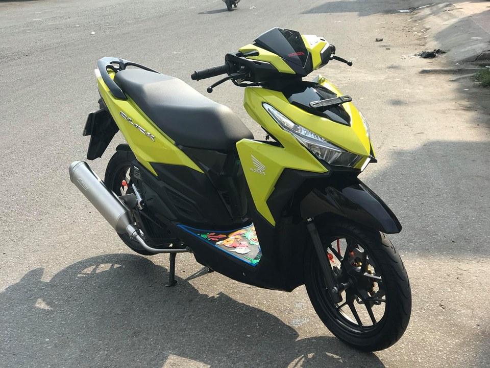 Click 125 do mang tone mau vang sporty noi bat cua biker An Giang - 3