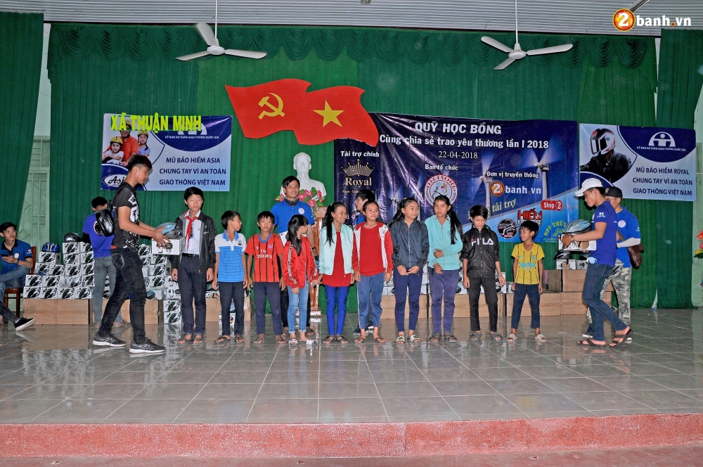 Club Exciter Ham Thuan Bac voi hanh trinh Cung chia se trao yeu thuong lan I - 13
