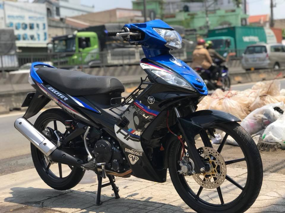 Exciter 135 do phong cach tem Hp4 BMW day lich lam - 5
