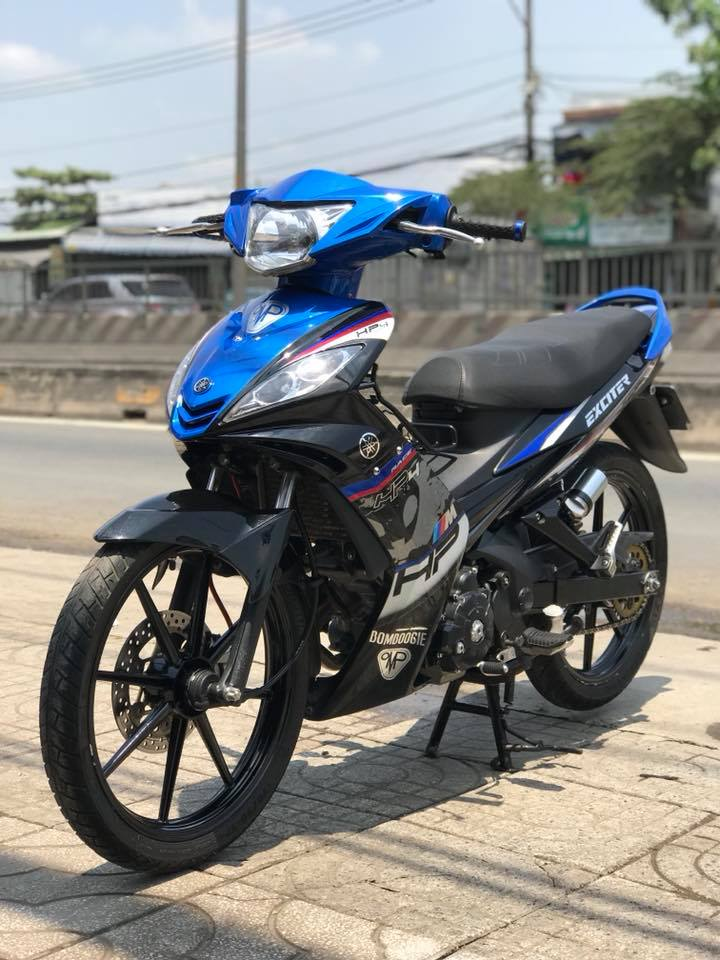 Exciter 135 do phong cach tem Hp4 BMW day lich lam - 7