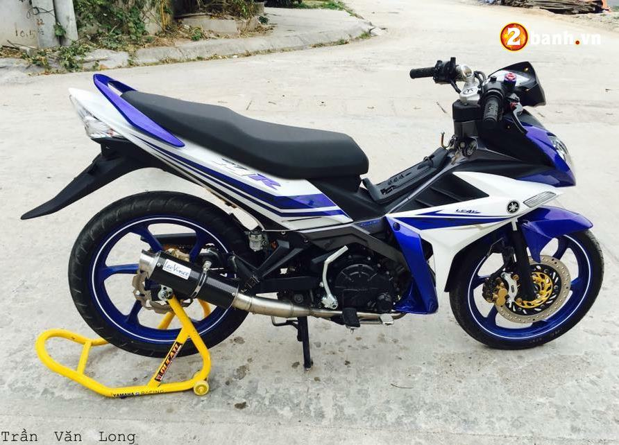 Exciter 135 do su an than hoan hao trong bo giap Yamaha X1R