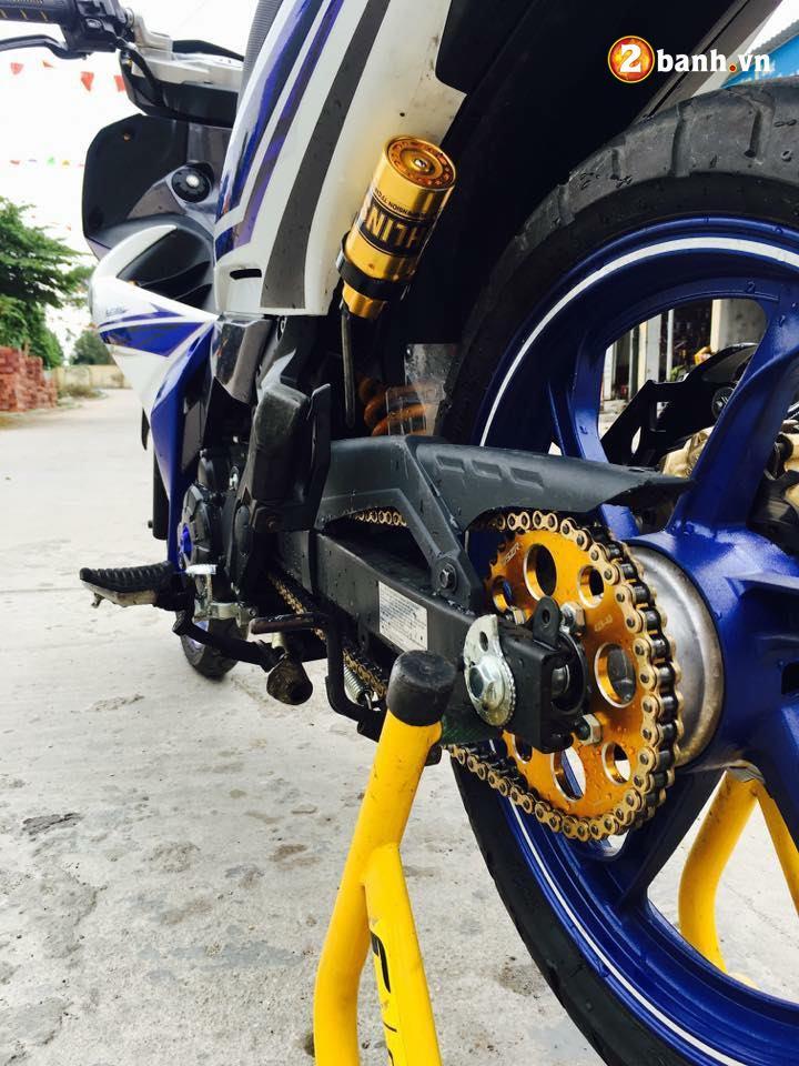 Exciter 135 do su an than hoan hao trong bo giap Yamaha X1R - 6