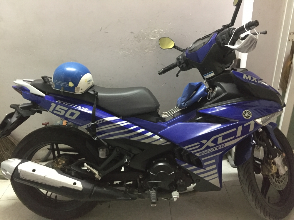 Exciter 150 DK 122015 xanh GP can giao luu Airblade - 6