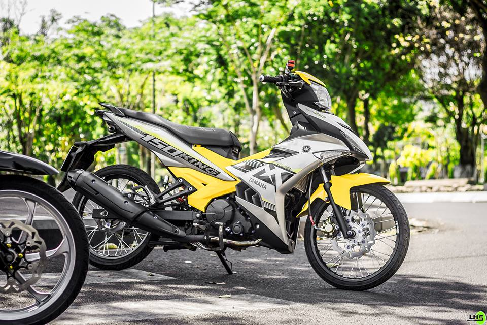 Exciter 150 do gay me nguoi xem trong version 2018 cua biker pho nui