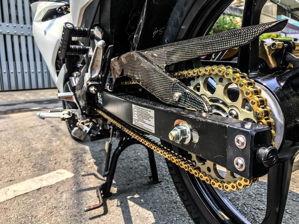 Exciter 150 do mang nhung net dep tiem an cua biker Viet - 6