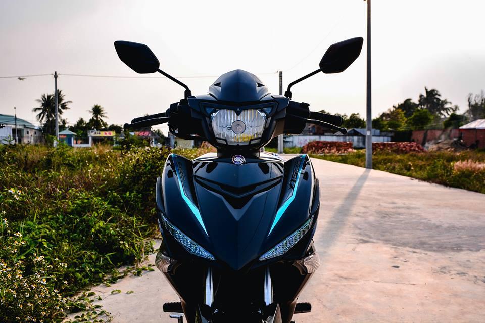 Exciter 150 do tao net dep rieng voi phong cach Y15ZR cua biker Dong Nai - 4