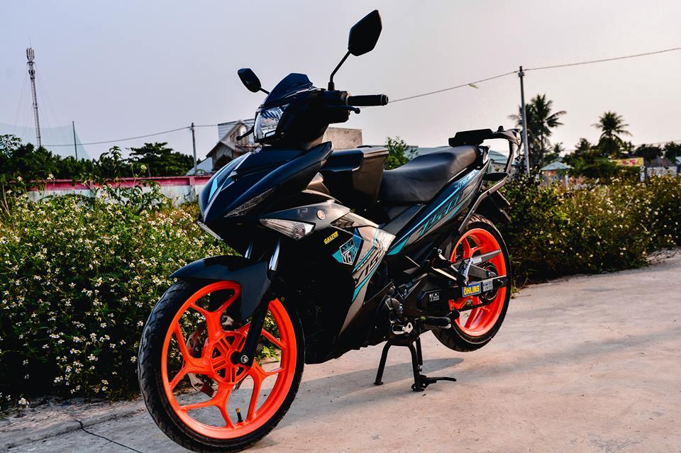 Exciter 150 do tao net dep rieng voi phong cach Y15ZR cua biker Dong Nai - 12