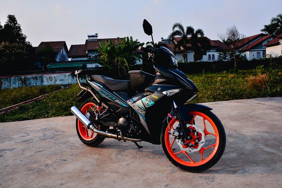 Exciter 150 do tao net dep rieng voi phong cach Y15ZR cua biker Dong Nai - 13