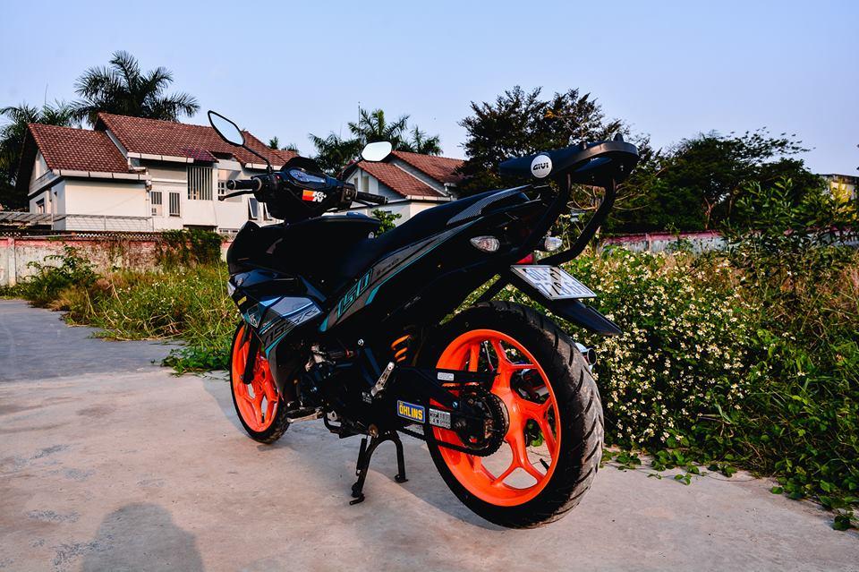 Exciter 150 do tao net dep rieng voi phong cach Y15ZR cua biker Dong Nai - 14