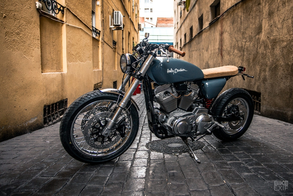 HARLEY SPORTSTER FortyEight ban do day tinh sang tao - 3