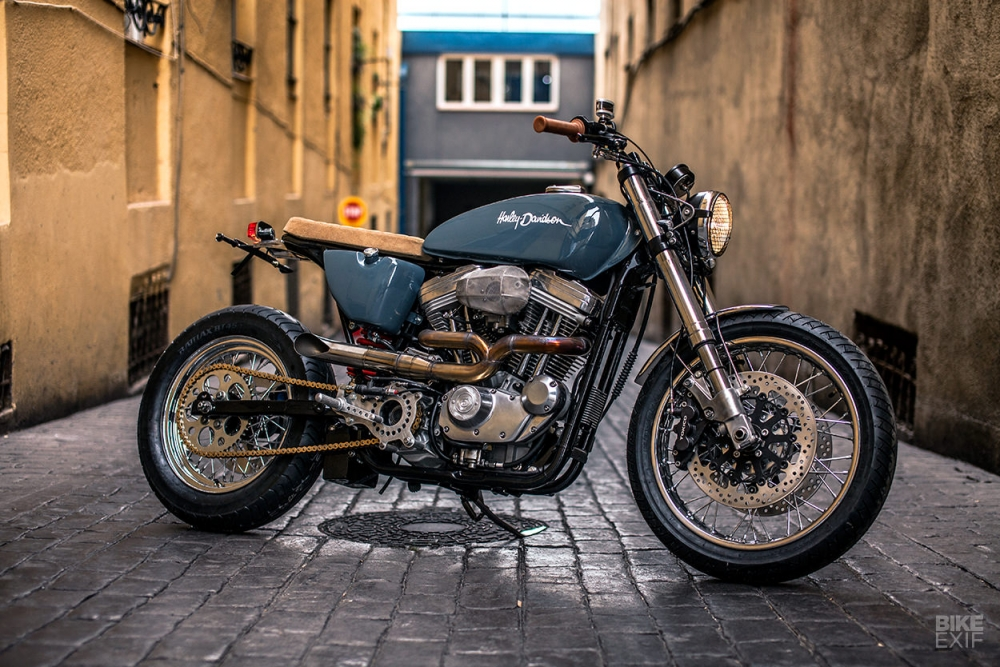 HARLEY SPORTSTER FortyEight ban do day tinh sang tao - 12