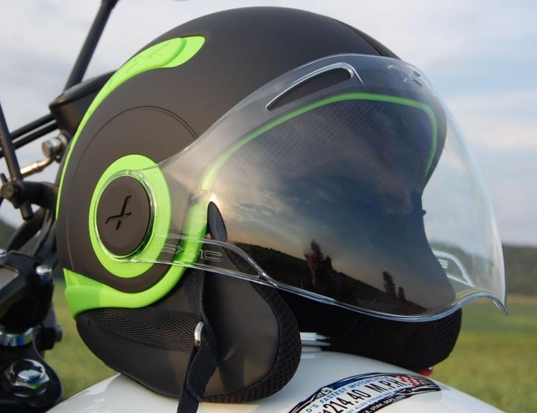 motobox Nexx SX10 Green mu bao hiem day ca tinh