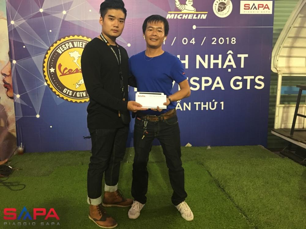 Sinh nhat lan 1 Hoi Vespa GTS GTV GT Viet Nam - 8