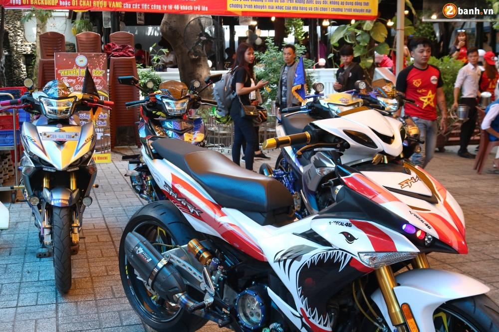 Hon 500 biker do ve Sai Gon mung Team Exciter Kien Vang tron I tuoi - 11
