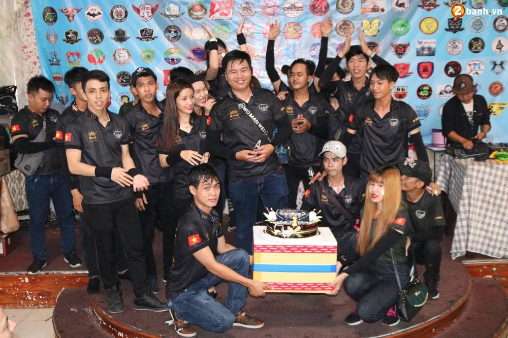 Hon 500 biker do ve Sai Gon mung Team Exciter Kien Vang tron I tuoi - 14