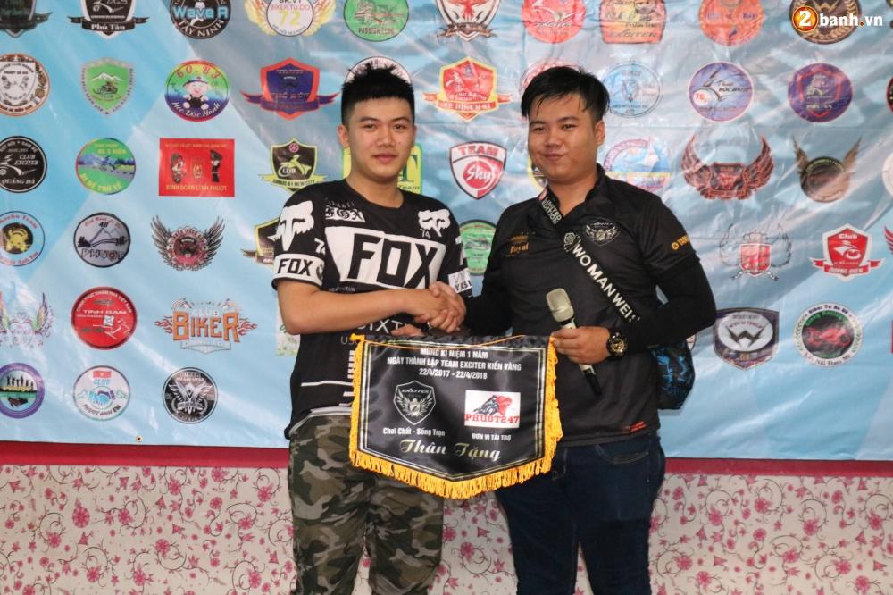 Hon 500 biker do ve Sai Gon mung Team Exciter Kien Vang tron I tuoi - 16