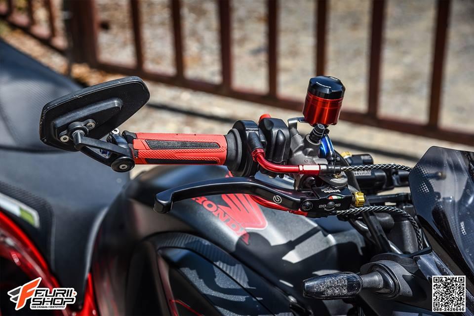 Honda CB650F do day cam hung voi dan ghidong da sac - 9