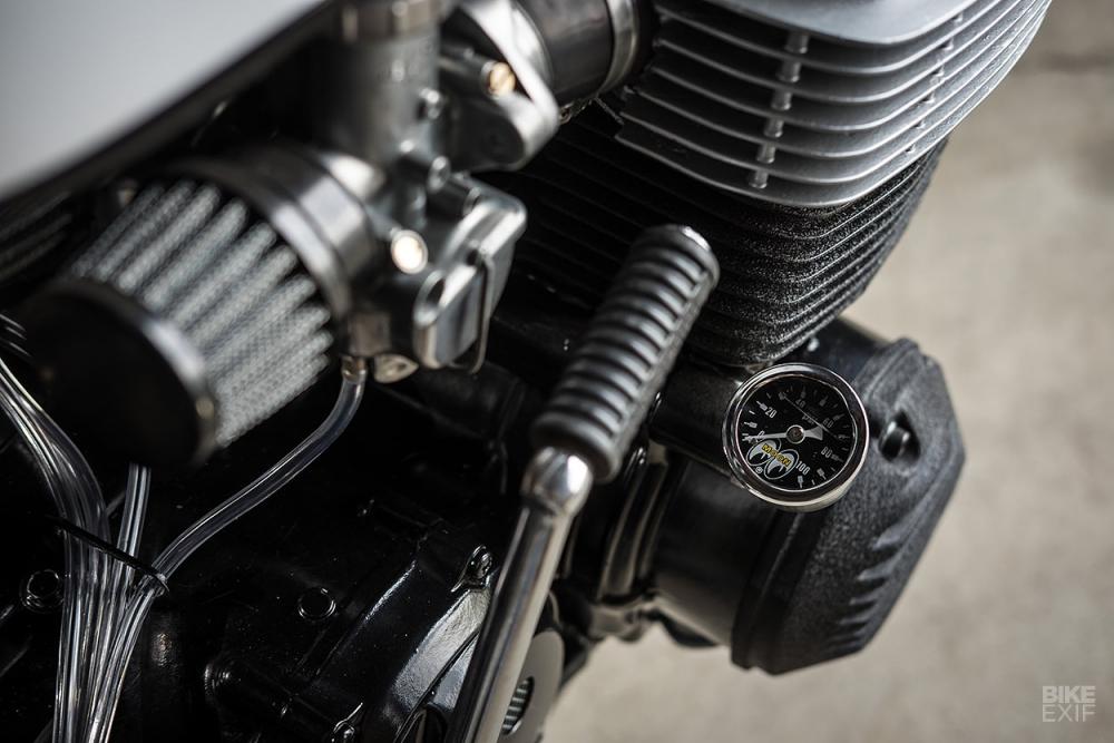 HONDA CB750K thoat xac an tuong voi phong cach Cafe Racer - 9