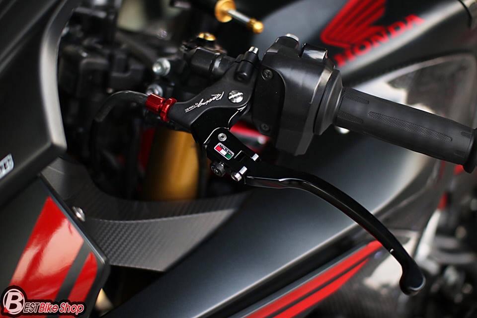 Honda CBR650F do day suc sang tao voi bo canh Matte Black - 7