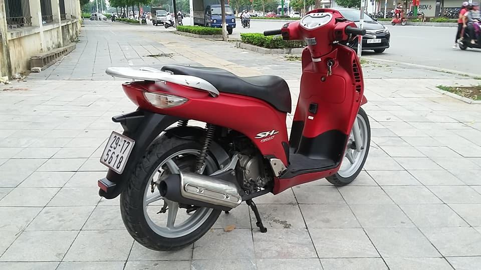 Honda SH 150i mau do san thoi trang bien ha noi - 5