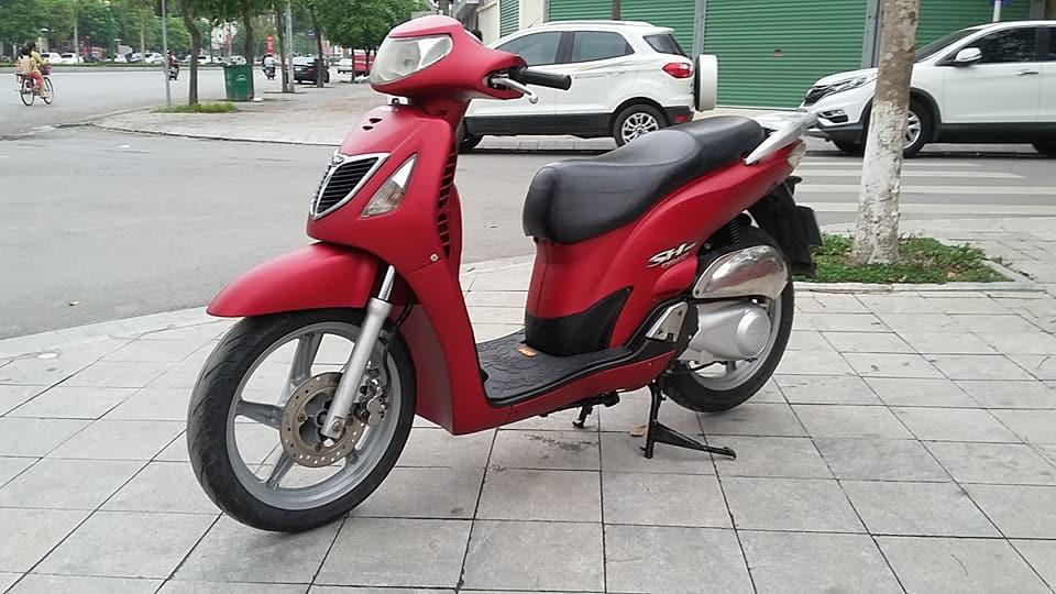 Honda SH 150i mau do san thoi trang bien ha noi - 6