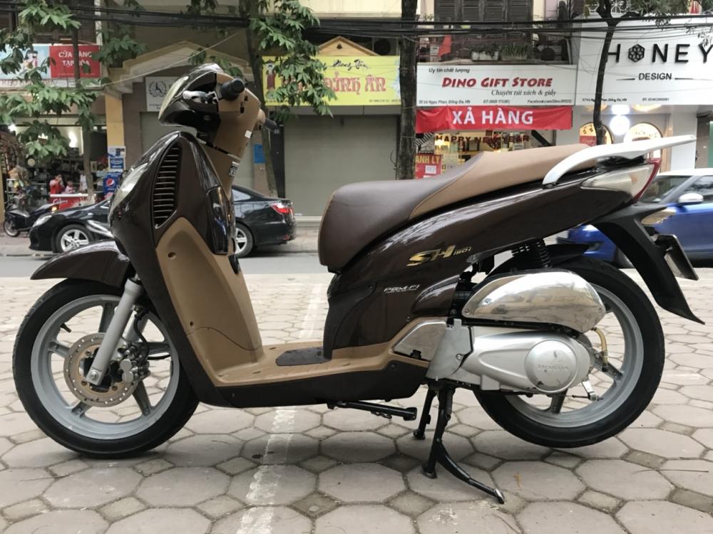 Honda SH 150i mau nau Cafe nhap khau Y cuoi 2010 - 6