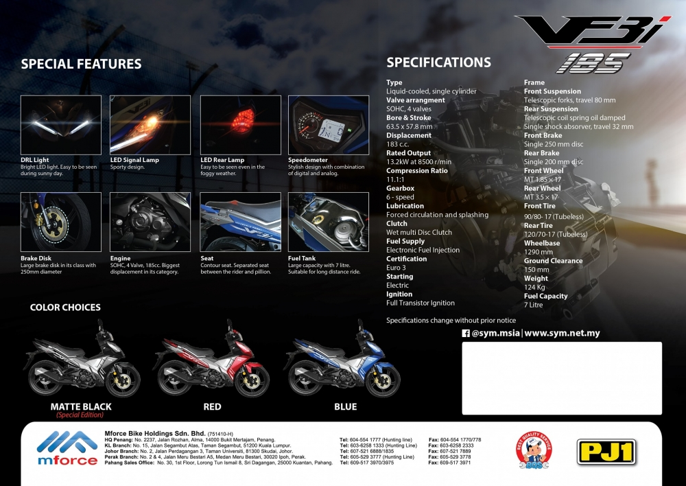 Hot SYM VF3i 2018 Mau xe con tay the thao vua duoc ra mat - 24