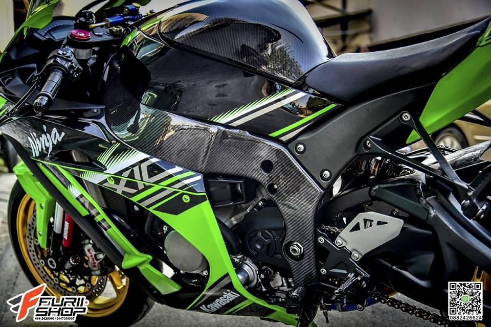 Kawasaki ZX10R ve dep tuyet sac ben do choi cao cap - 9
