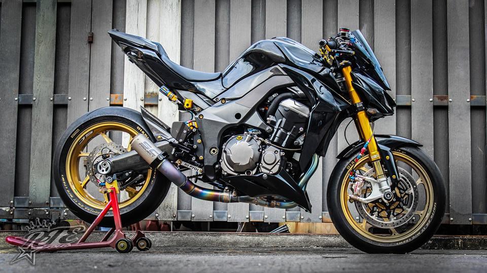 Man nhan voi ban do Kawasaki Z1000 trang bi tan rang - 3