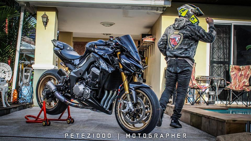 Man nhan voi ban do Kawasaki Z1000 trang bi tan rang - 13