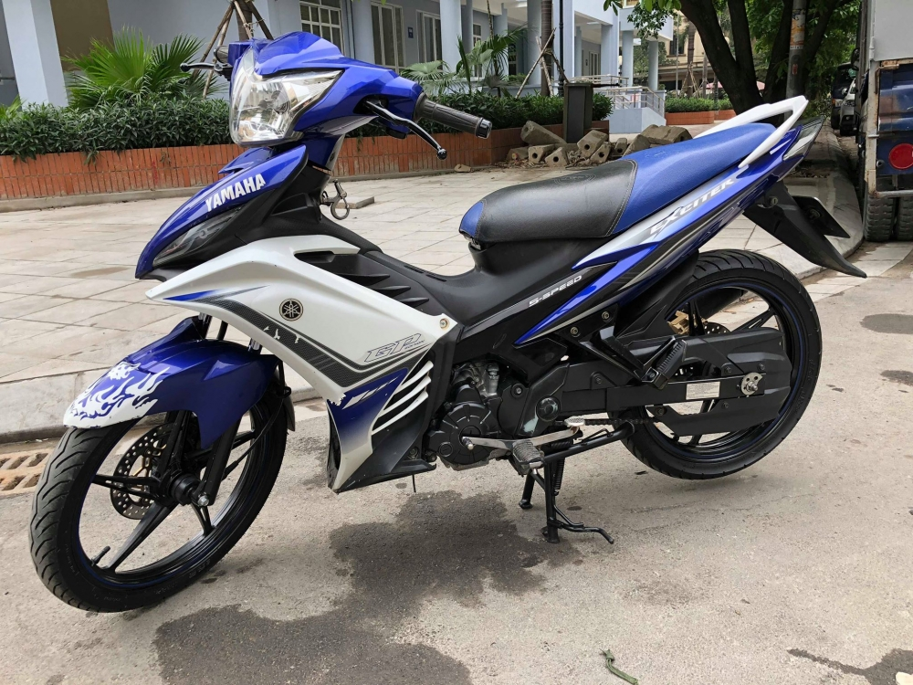 minh ban xe Exciter135 GP doi 2012 bks 29 5 so chinh chu doi 2012 xe nhu moi Full anh xe - 4