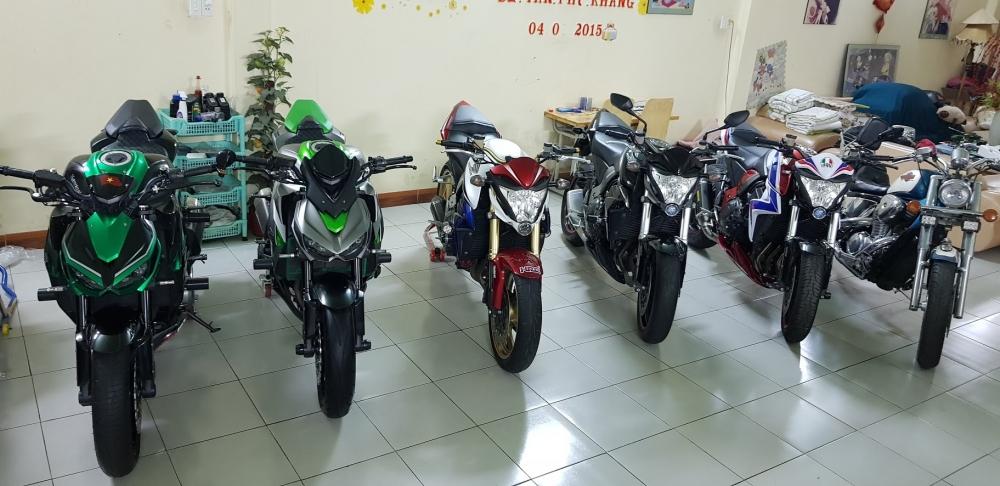 Ban Honda CB1000RA va Kawasaki Z1000 - 6