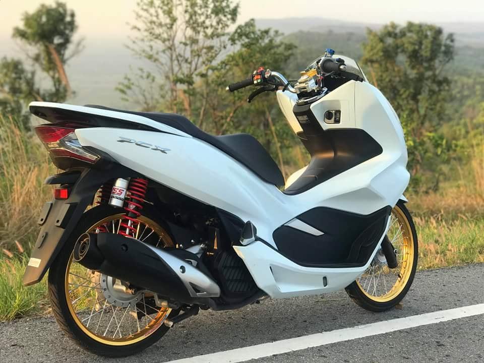 PCX 150 2018 do mang ve dep gian don cua biker xu chua vang - 3