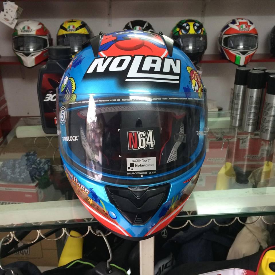 Moto299 Mu bao hiem Nolan N64 tai Ha Noi - 3