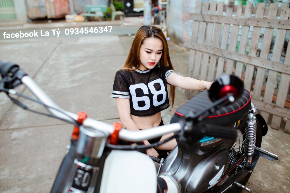 Sieu Nong bong My Ngoc Cung Xe Cub Do Tphcm - 25