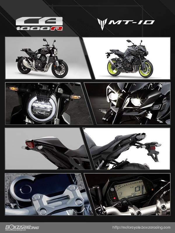 So sanh Honda CB1000R vs Yamaha MT10 - 2