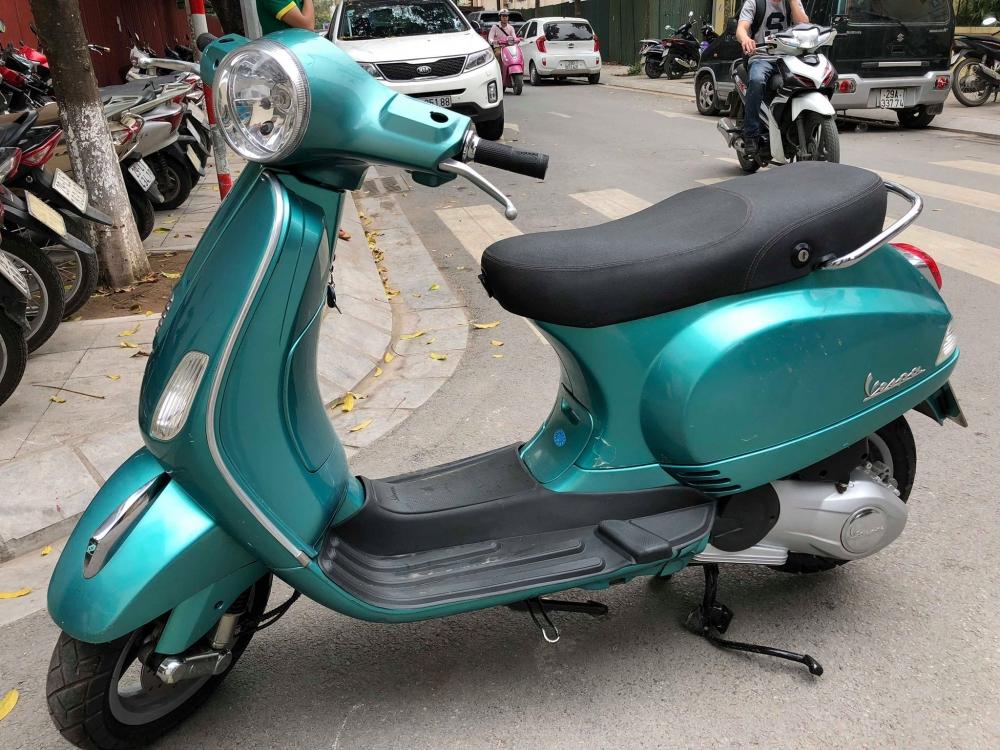 Vespa LX125 3vie 2015 xanh cuc sang trong 29F rat giu 34tr500 doi moi cho ac nguoi dang can mua sd - 4