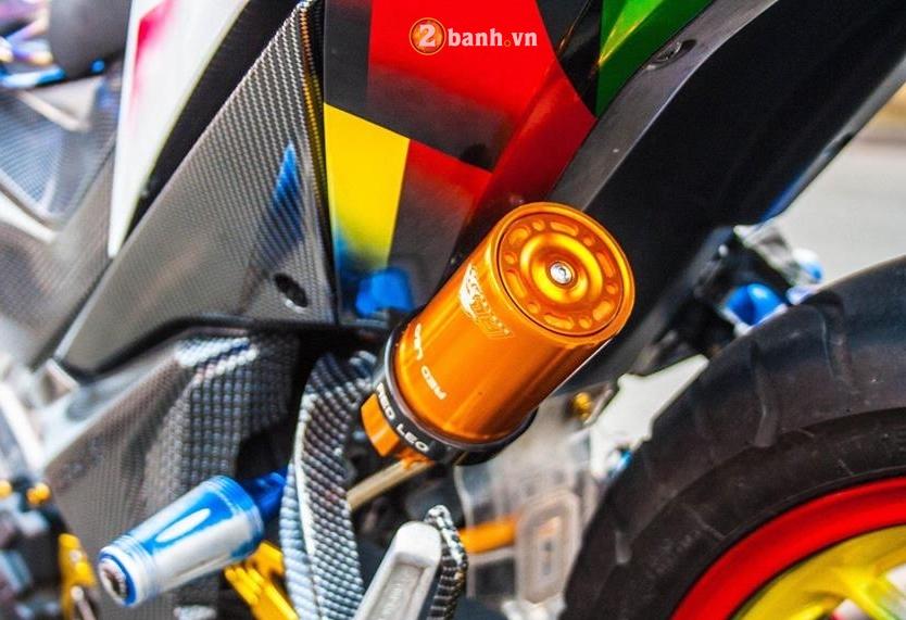 Winner 150 do mang ve dep tao bao voi option do choi chat cua biker Long An - 9