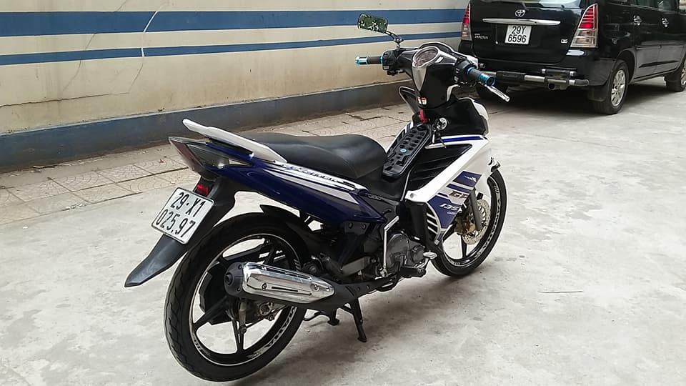 Yamaha Exciter 135cc mau xanh GP con tu dong HN - 5