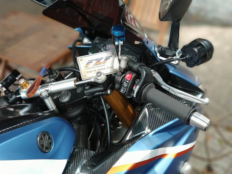 Yamaha R3 do phong cach Touring cua Biker Viet - 5