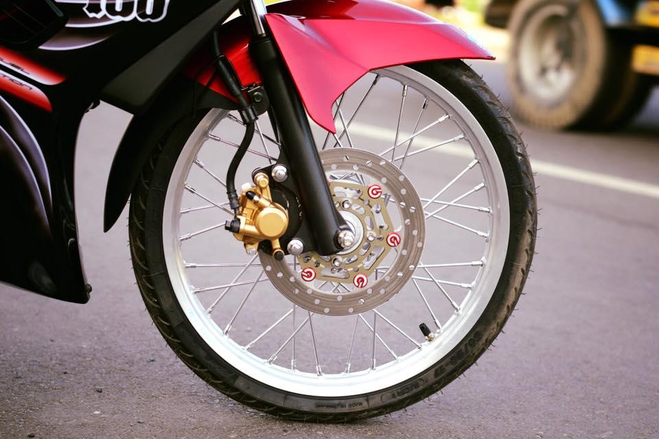Yamaha Spark 135 do su hoi sinh trong ve dep nguyen thuy cua biker Ca Mau - 5
