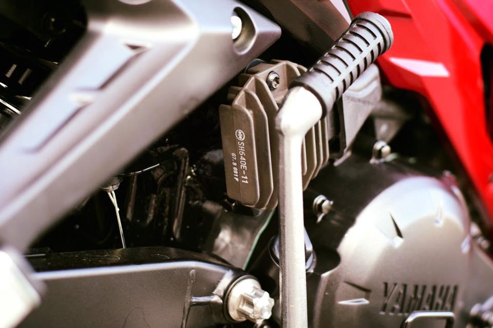 Yamaha Spark 135 do su hoi sinh trong ve dep nguyen thuy cua biker Ca Mau - 7