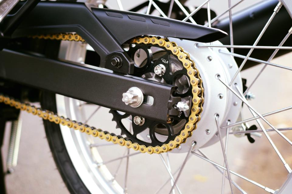 Yamaha Spark 135 do su hoi sinh trong ve dep nguyen thuy cua biker Ca Mau - 9