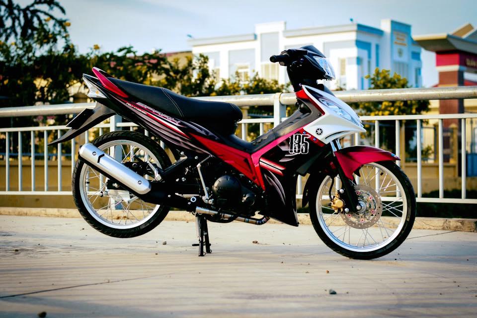 Yamaha Spark 135 do su hoi sinh trong ve dep nguyen thuy cua biker Ca Mau - 10